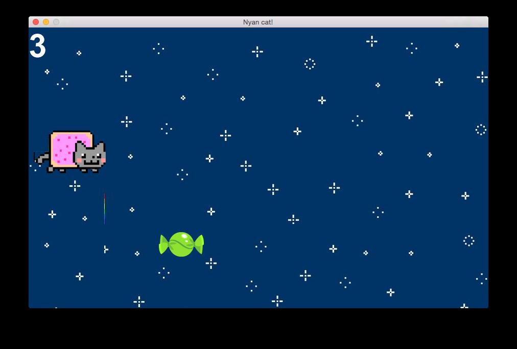 Nyan Cat Game